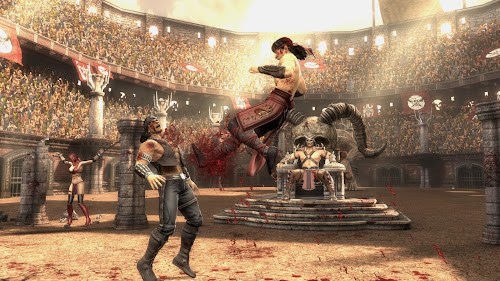 Screen Shot Of Mortal Kombat Komplete Edition (2013) Full PC Game Free Download At Downloadingzoo.Com