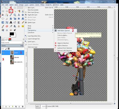 Creating a Cutout Image