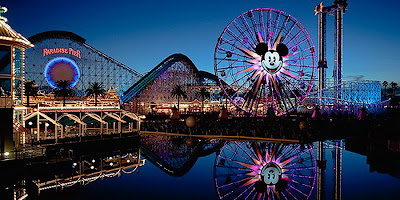 Disneylandresort is beautiful tourist attractions in the world