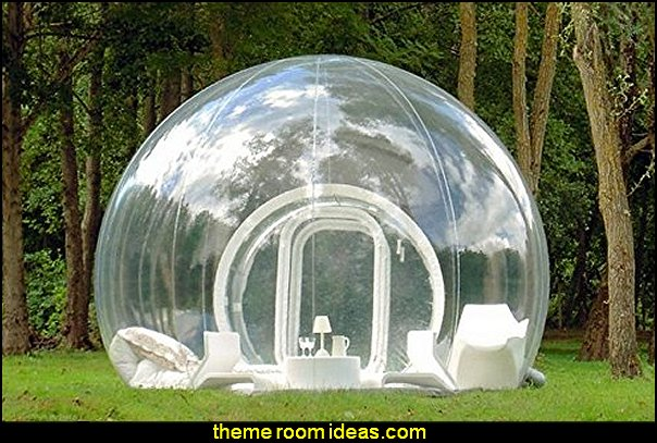 Inflatable Bubble Tent Family Camping Backyard