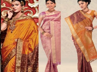 Silk Saree is one of the most traditional sarees of India . It