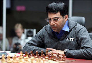 Echecs à Moscou : Vishy Anand et la stratégie avec les pièces noires - Photo © Chessbase