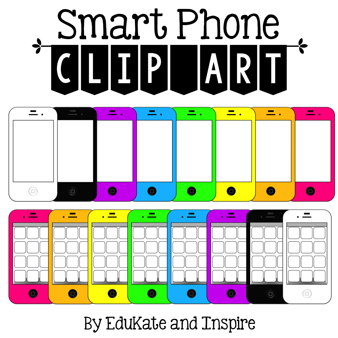 iphone clip art