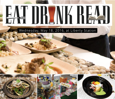 Enter to win tickets to Eat.Drink.Read A Culinary Fundraiser - May 18
