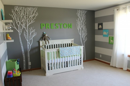 2 reasons baby boy room for Idee deco chambre bebe