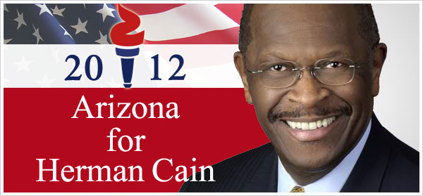 Arizona~Herman Cain For President 2012