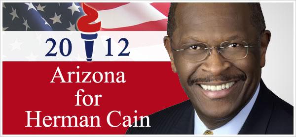 Arizona~Herman Cain For President 2012