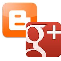 Tight integration between g+ and blogger