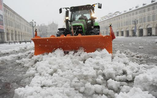 Torino strade con obbligo pneumatici invernali