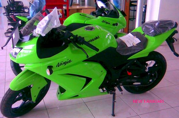Kawasaki Ninja 250 cc in Jambi