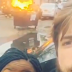If you do not like to become one of them, do not take selfies beside a fire