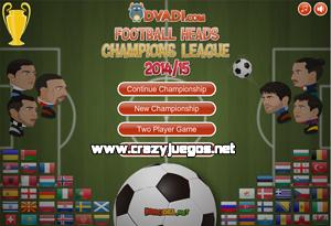 Jugar Football Heads Champions League
