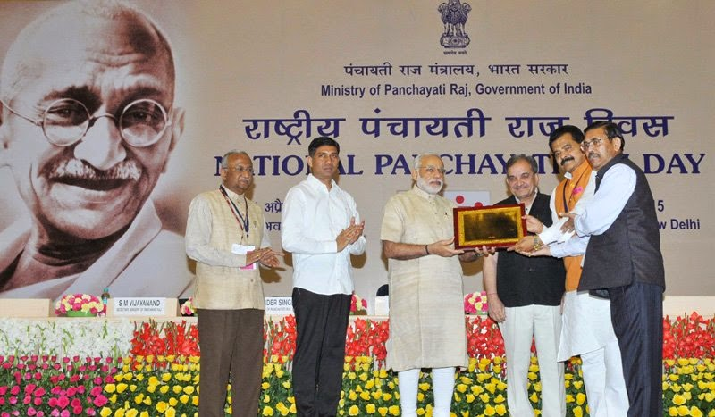Sikkim receives five National Awards In Rural Development