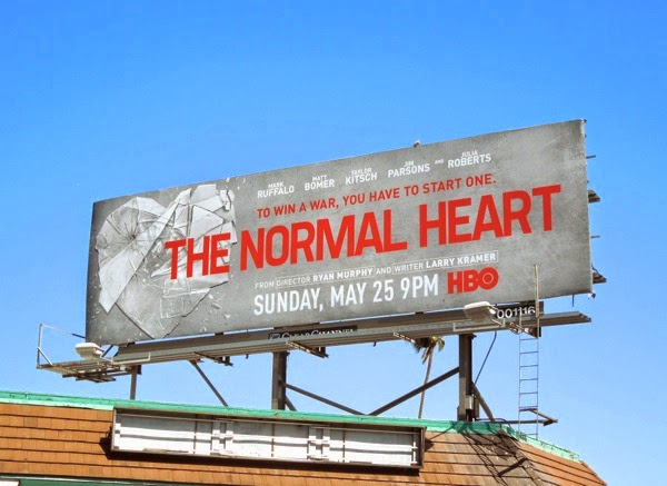 The Normal Heart movie billboard