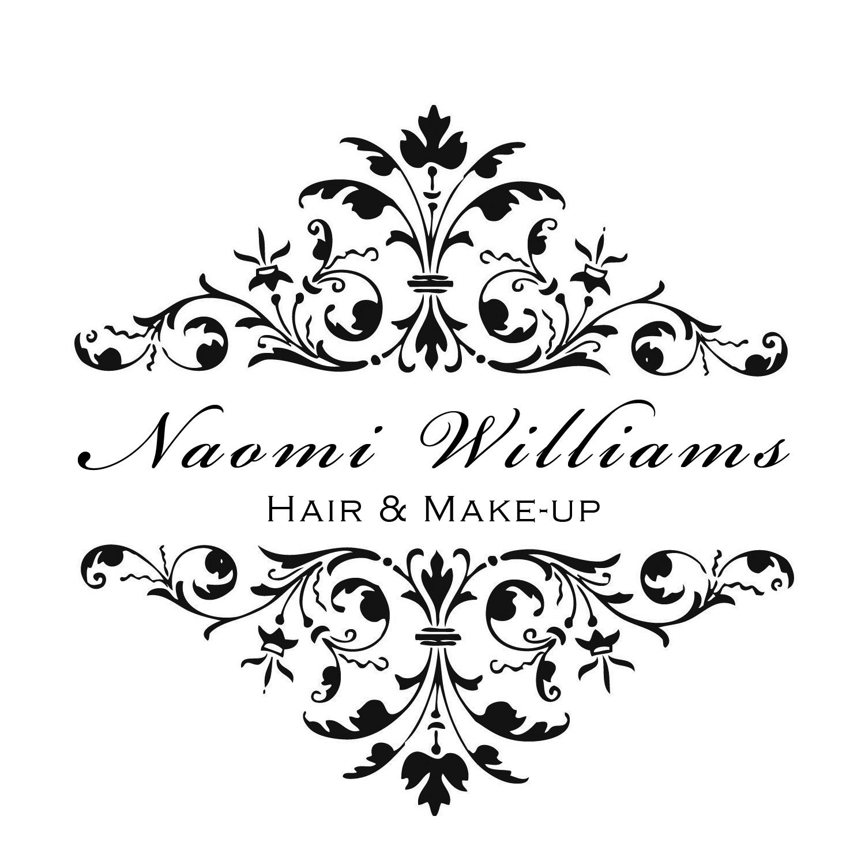 ... for 2012 02 Naomi Williams Hair Makeup Damask Business Logo Design