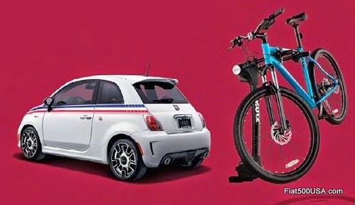 Fiat 500 Abarth Bike Carrier