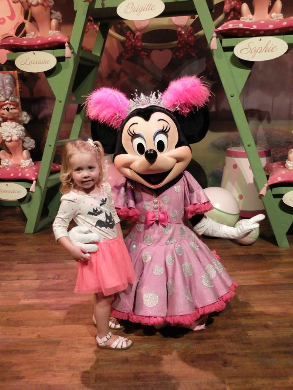 Walt Disney World, Magic Kingdom, Minnie Magnifique
