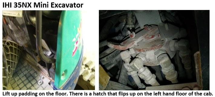 IHI 35NX Excavator Controls Change