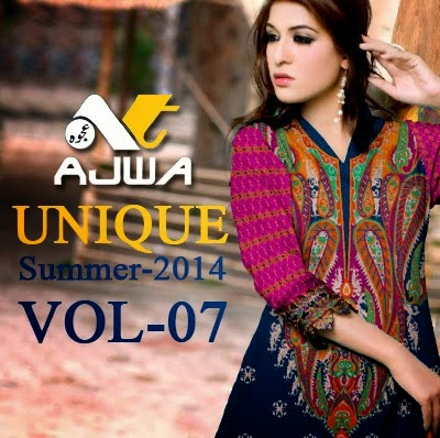 Ajwa Unique Summer Dresses Collection 2014