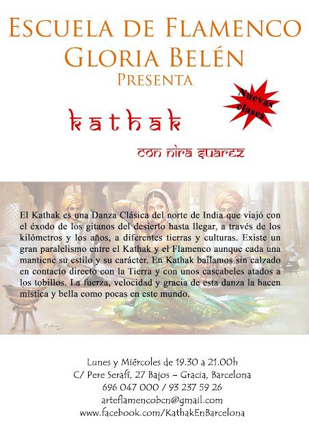 Cursos de Danza Kathak
