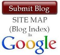 Buat sitemap blog anda