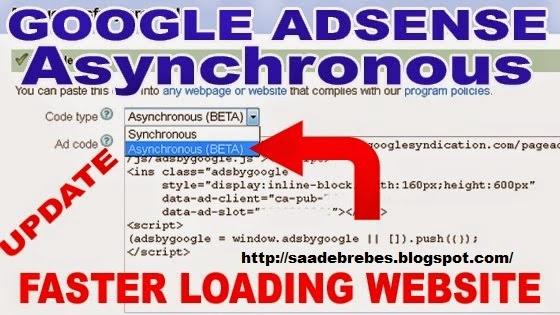 Langkah mudah membuat banyak iklan adsense fast loading hanya dengan 1 java script di Blog