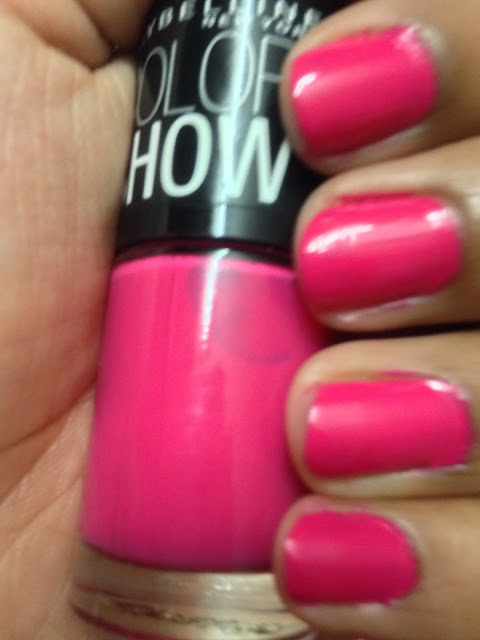 Maybelline Color Show ~ hooked-on-pink