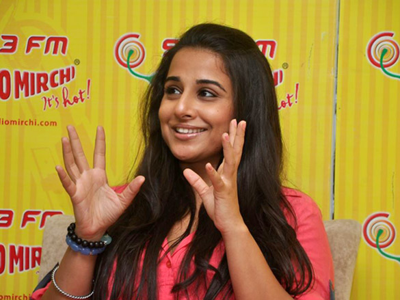 vidya balan at radio mirchi hot photoshoot