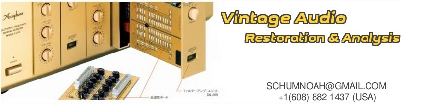 Vintage Hi-Fi Audio Restorations
