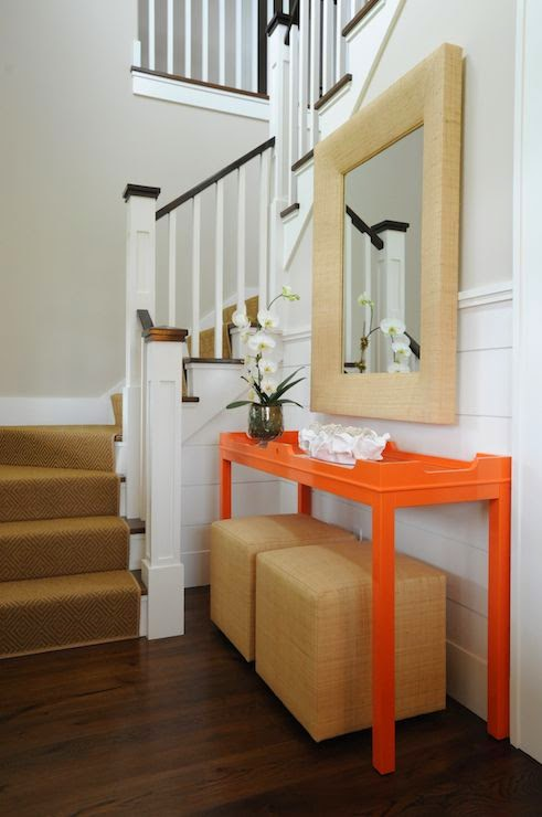 Difference Between Foyer And Entrance : Everything coastal orange crushing