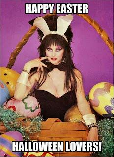 Happy Easter Elvira style