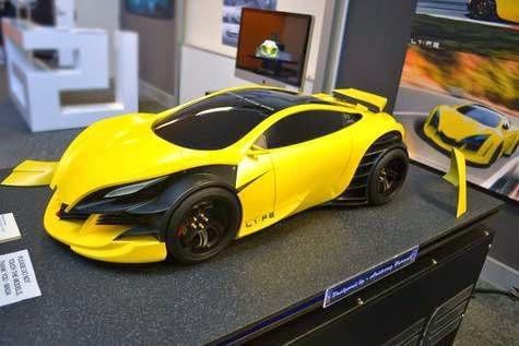 Supercar concept gokil 2020
