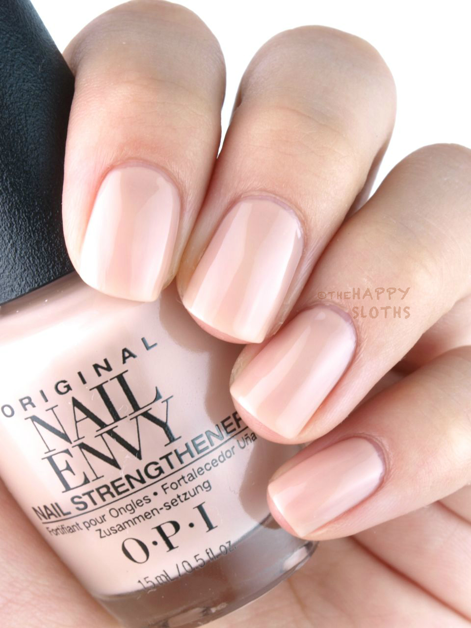 New OPI Nail Envy Nail Strengthener Strength + Color: Review and ...
