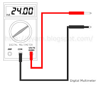 Digital Multimeter DC Volts Function