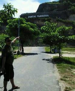wisata batu akik pantai pandawa