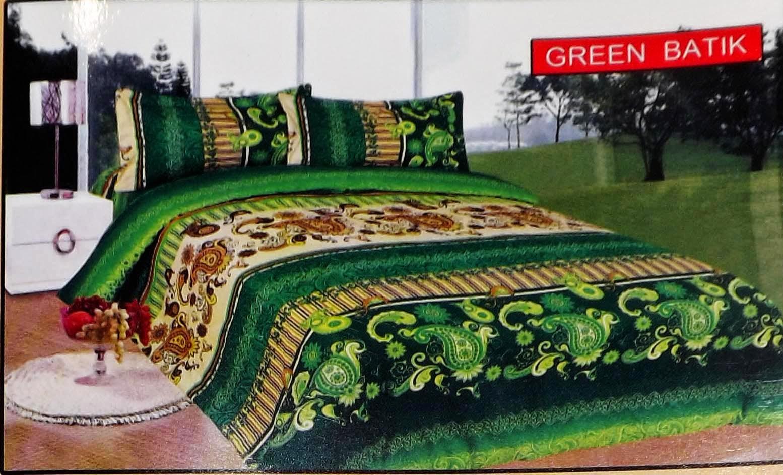 Sprei Bonita Green Batik