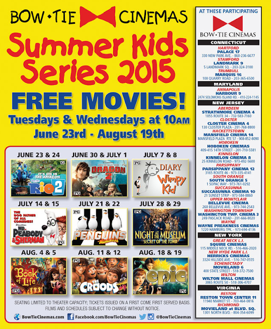 http://www.bowtiecinemas.com/programs/kids-club/