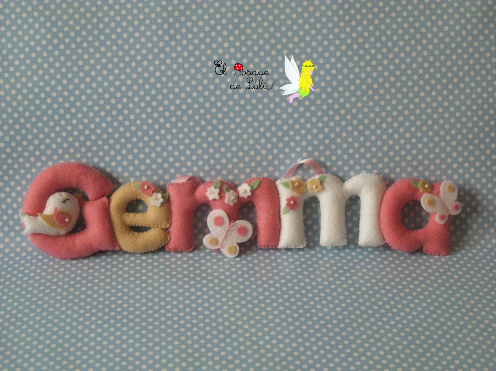 nombre-decorativo-fieltro-name-banner-infantil-decoración-nacimiento-Gemma