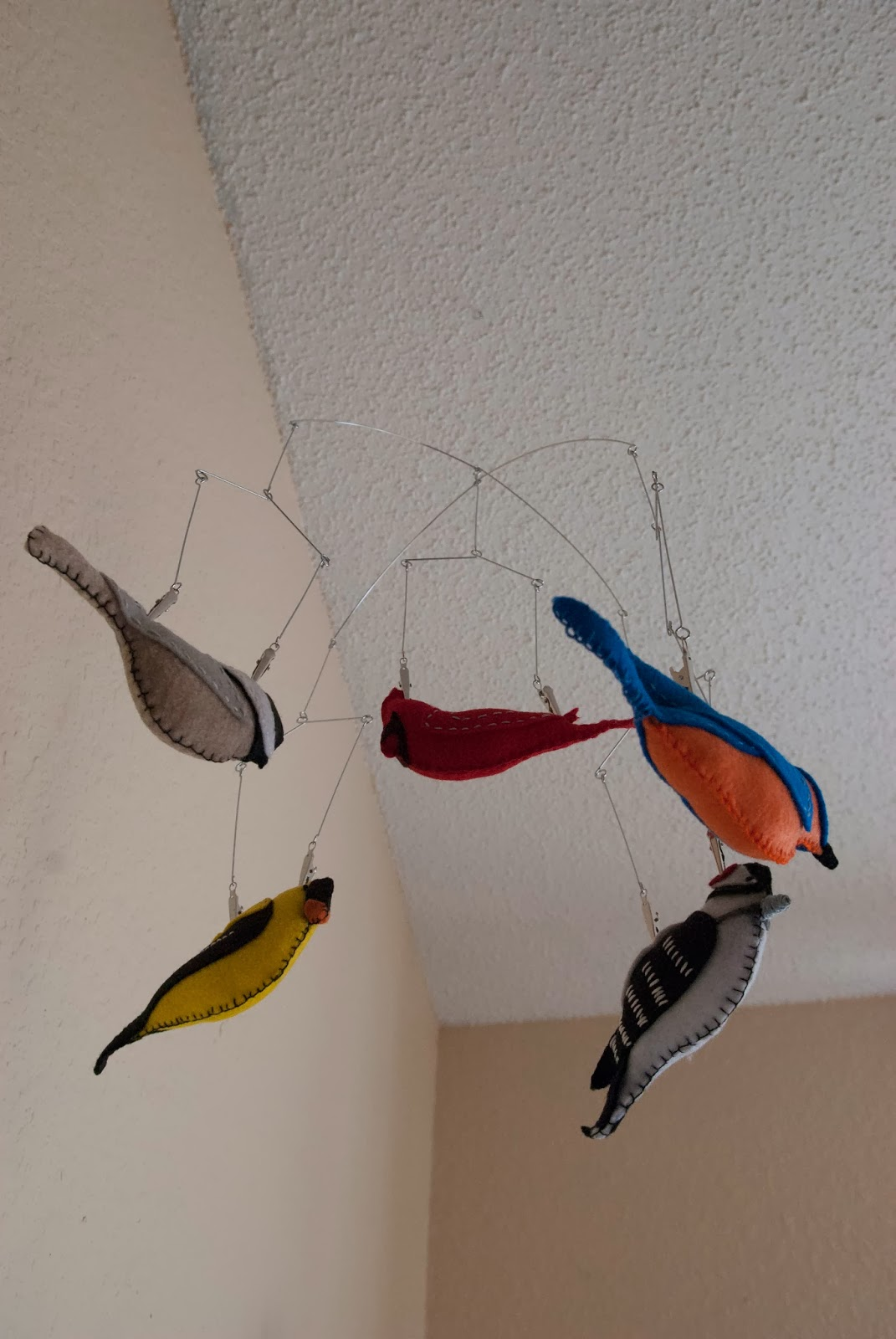 Our trek my diy baby project felt bird mobile but whether its because i majored in art in college or because of the do it yourself attitude i inherited from my father i tend to think i can create solutioingenieria Images