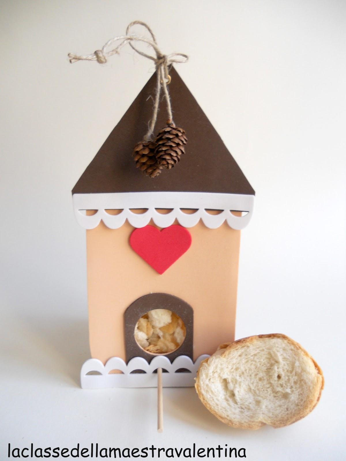 La classe della maestra valentina casette mangiatoia for La classe della maestra valentina primavera