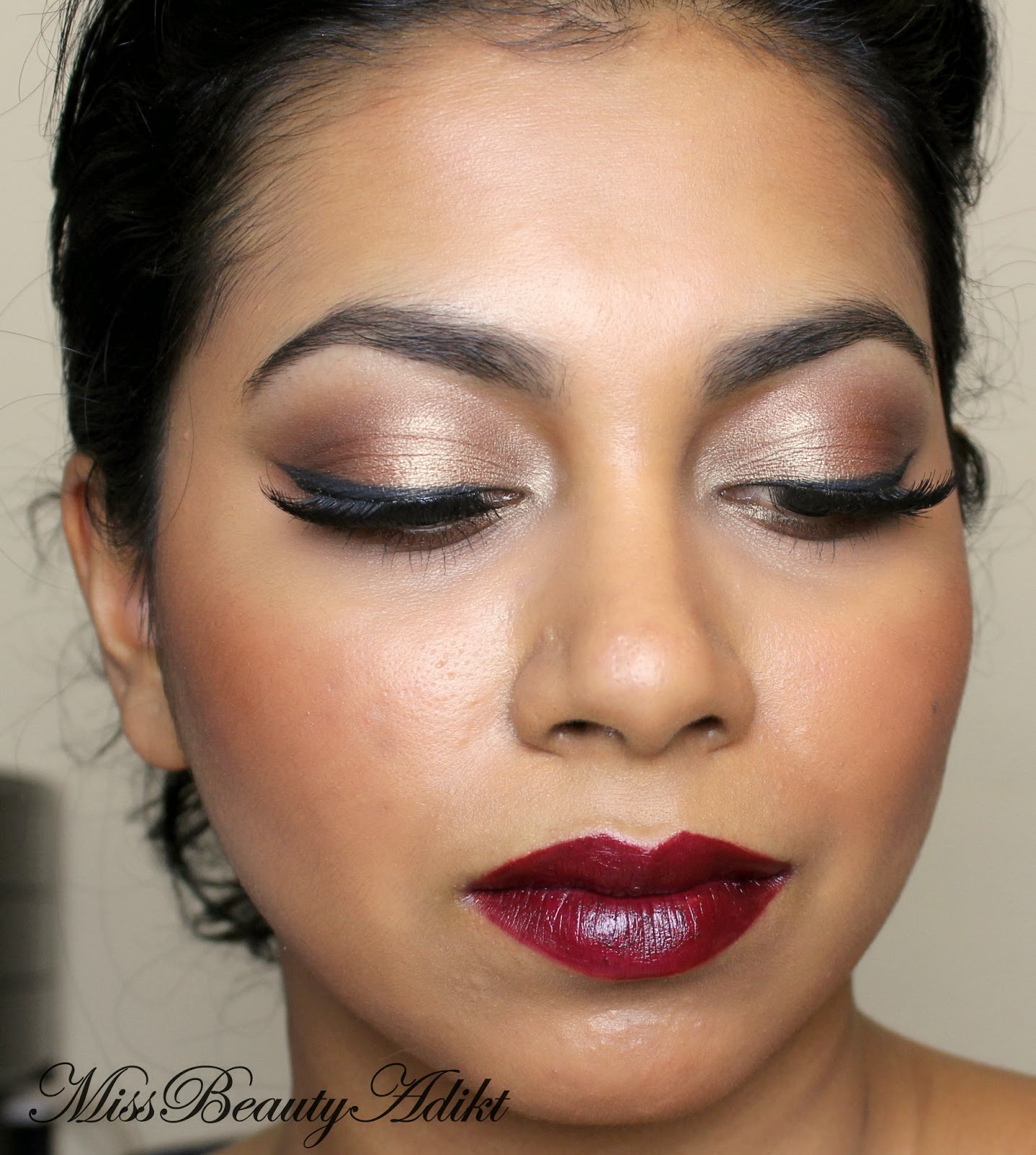 M i s s b e a u t y a d i k t riri hearts mac makeup tutorial riri hearts mac makeup tutorial baditri Image collections