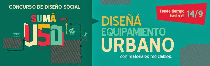 Concurso Diseño Equipamiento urbano Buenos Aires