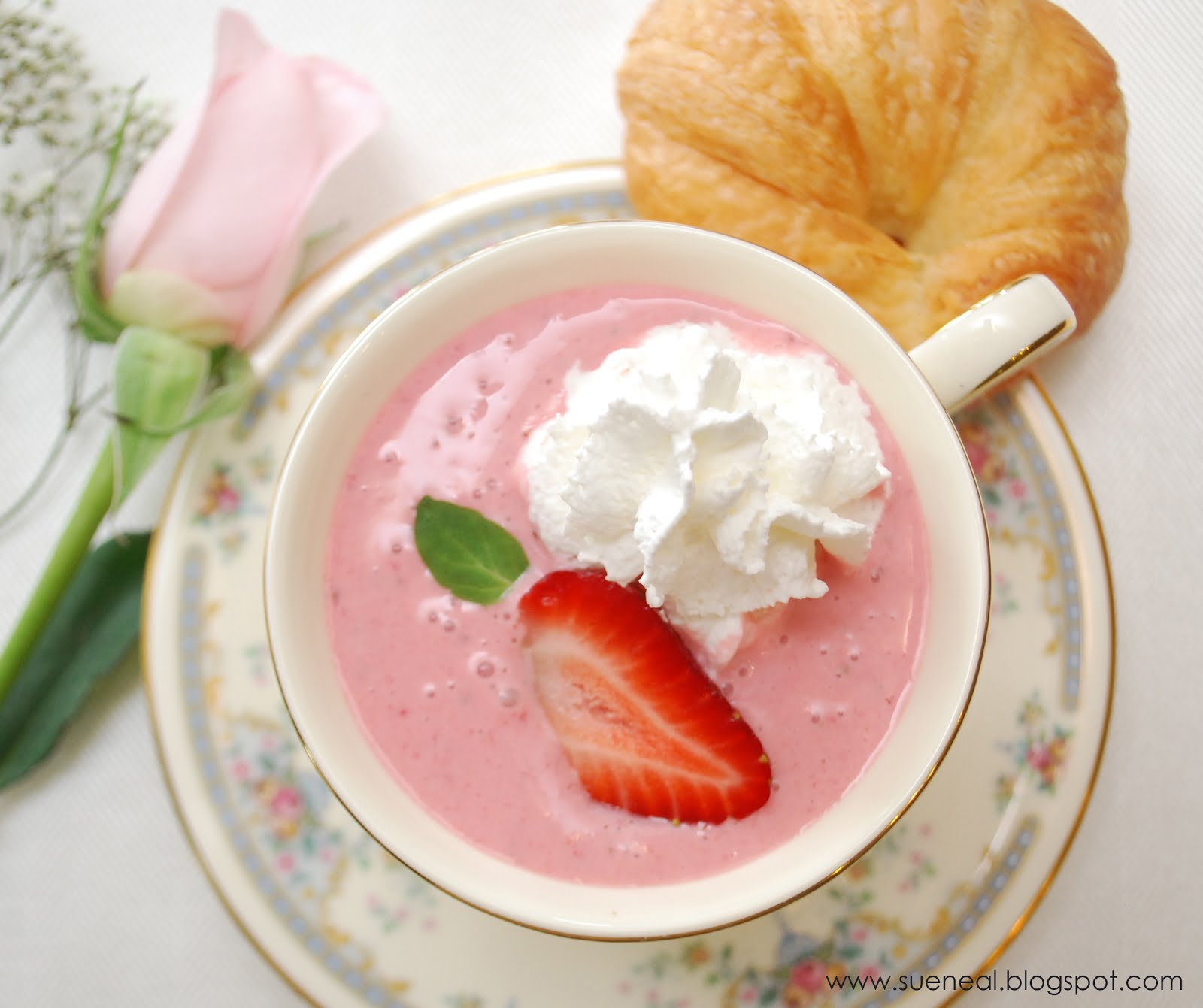 Strawberry Bisque