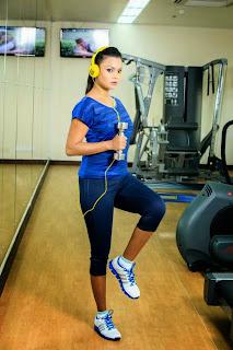 Gayesha Perera fitness