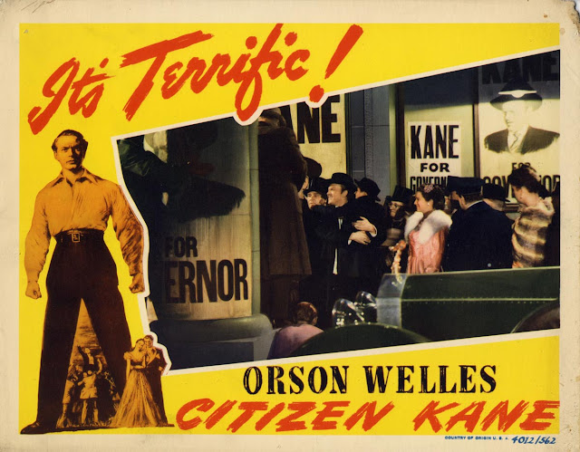 a review of citizen kane a movie by orson welles