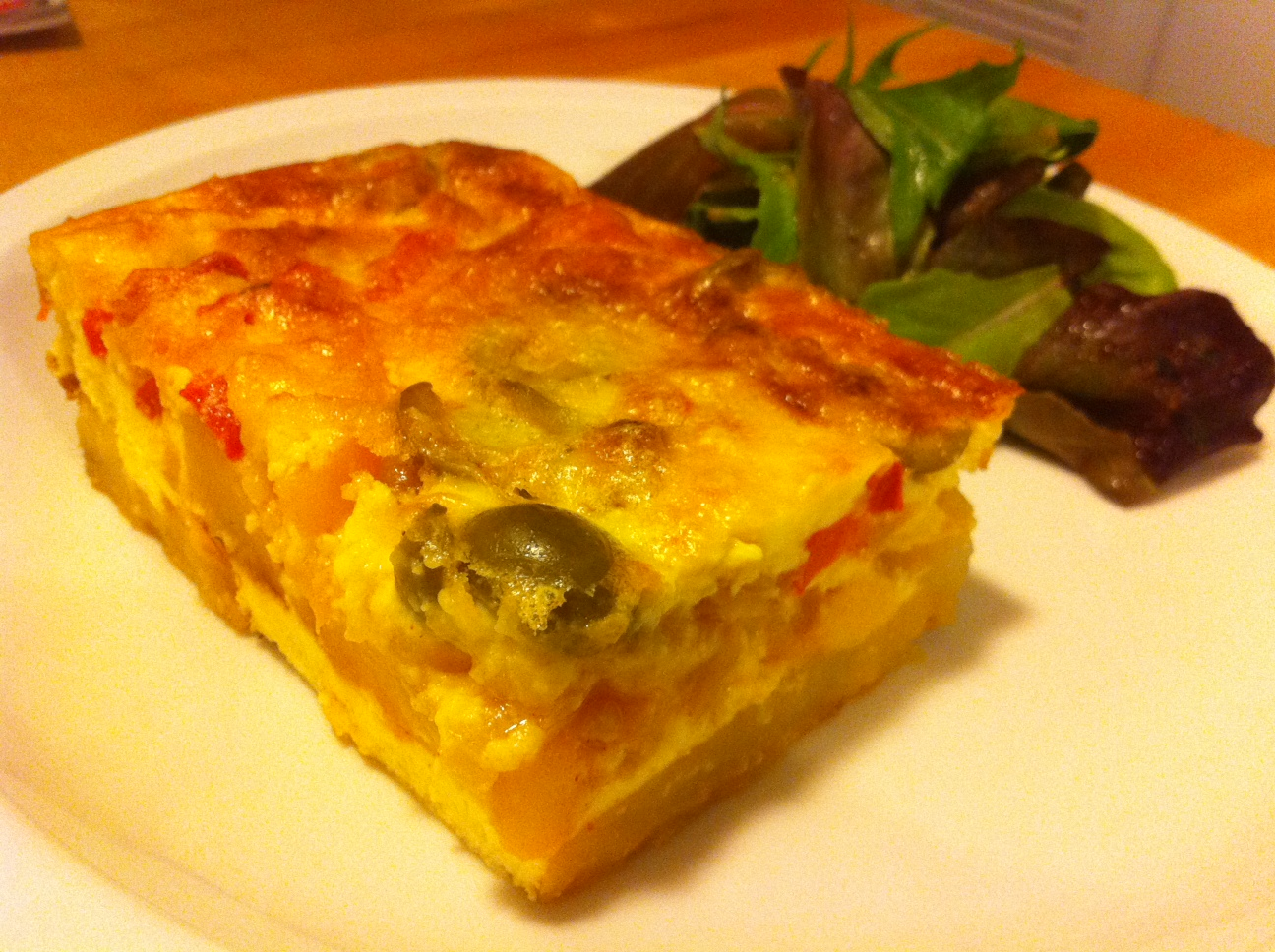 ... Simple Joys from Table to Life: Moosewood Restaurant Spanish Frittata