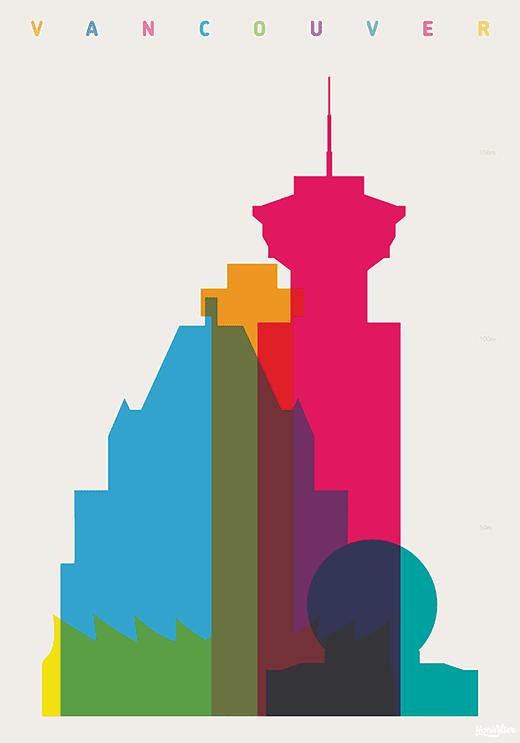 Vancouver print by Yoni Alter