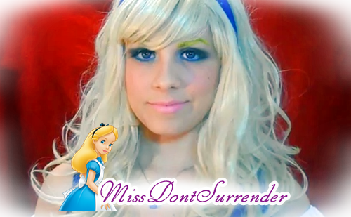 Maquillaje de Alicia en el país de las maravillas por Miss Dont Surrender