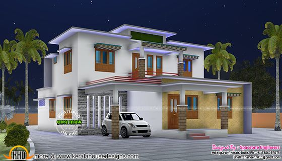 2170 square feet Kerala home plan