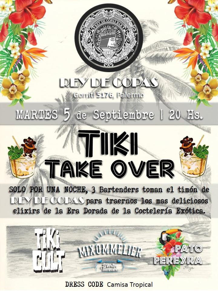 TIKI TAKE Over en Rey de Copas